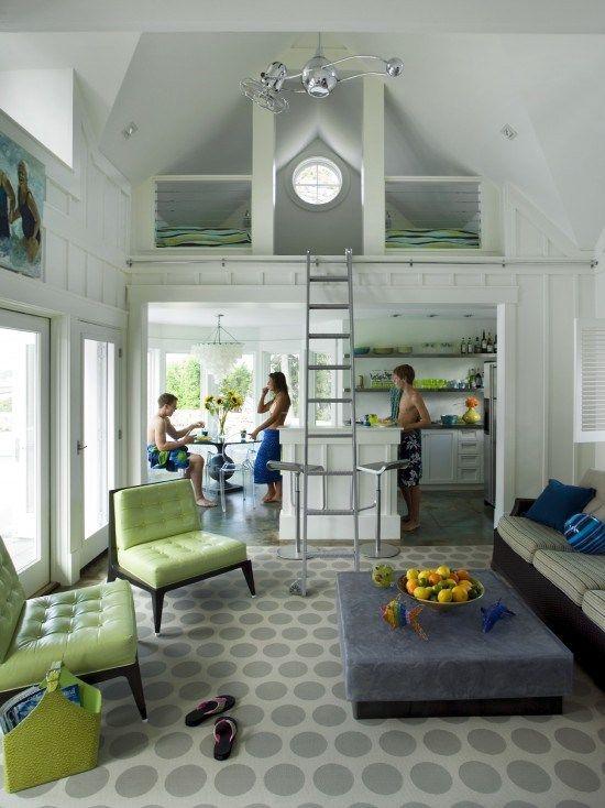 beach house loft dream house pinterest On beach house loft design