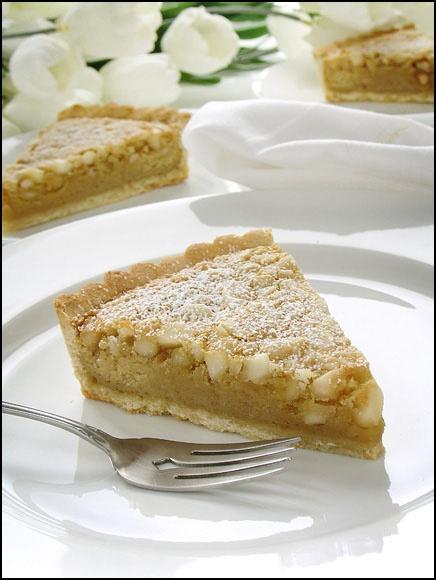 Macadamia Nut Tart | Desserts and Sweets | Pinterest
