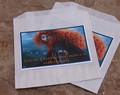 Brave Birthday Party Favor - 10 Brave cookie/candy bags