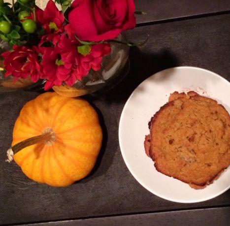 Pumpkin Pecan Scone {Cookie} and gluten-free