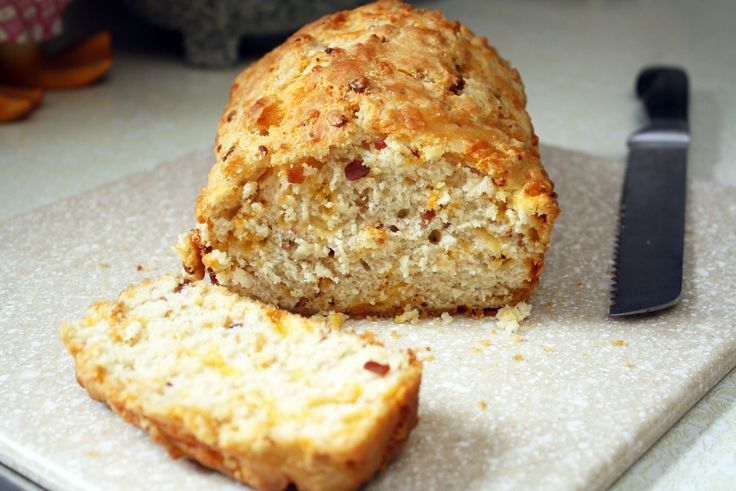 Bacon Cheddar Beer Bread | Breads/Rolls/Muffins | Pinterest