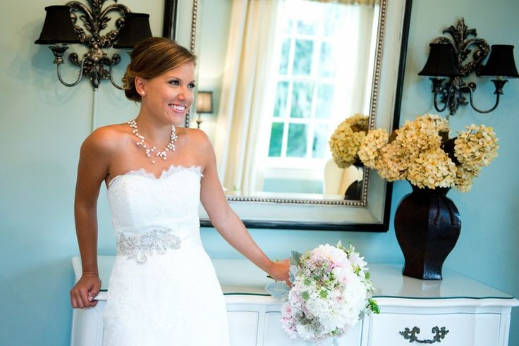 Katie & Kyle's late summer wedding at legare waring house - San Patrick Dress from Tre Bella Bridal