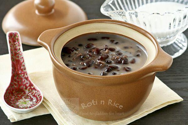 Sweet Red Bean Soup - Roti n Rice
