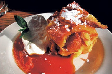 Bread Pudding with Orange Caramel Sauce — Punchfork
