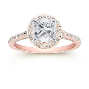 Rose Gold... Create your own ring: Shane Co.