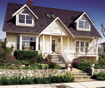 Dormer window styles for Different types of dormers