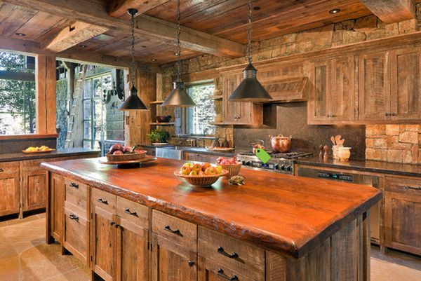 Top 10 Beautiful Rustic Kitchen Interiors For A Warm Cooking Experien