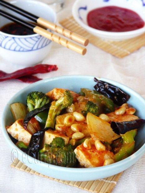 Tofu Peanut Stir Fry | Raw-Vegan-Healthy | Pinterest