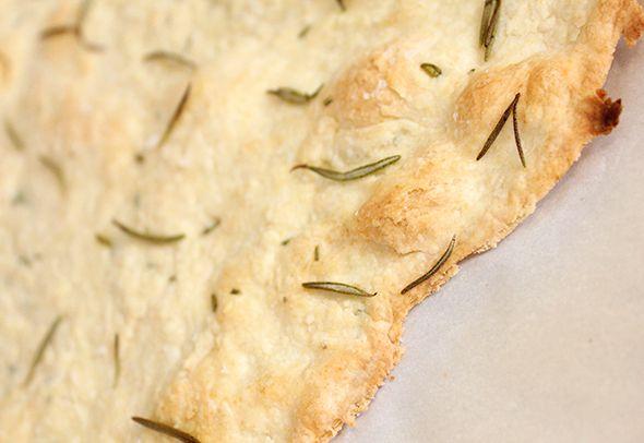 Crisp Rosemary Flatbread | Bakstur | Pinterest