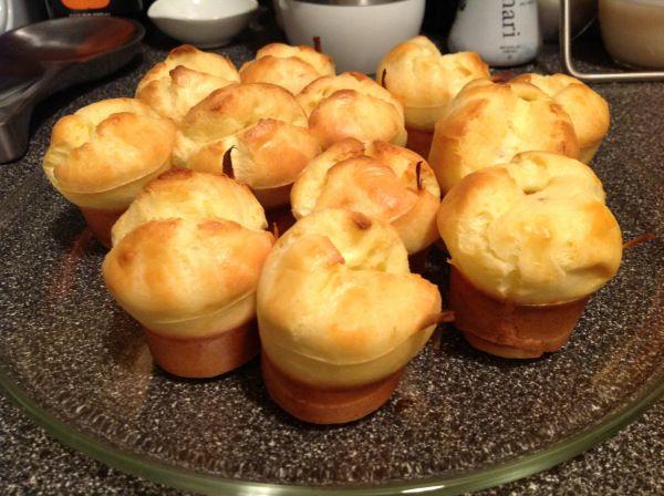 Gluten-free mini popovers | food | Pinterest