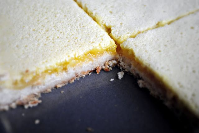 Simply Scratch » Lemongrass Squares with Coconut Shortbread Crust