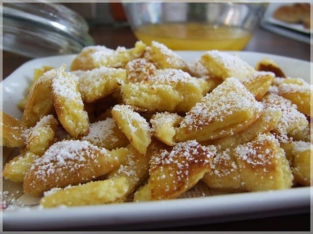 """Kaiserschmarrn. Austrian dessert, meaning """"Emporor's mishmash ..."""