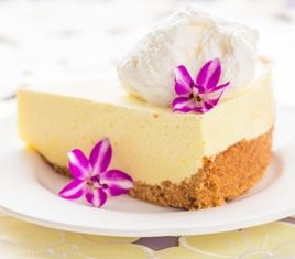 Lilikoi Chiffon Pie Another classic Hawaiian dessert - Lilikoi (Passion fruit) Chiffon Pie!!