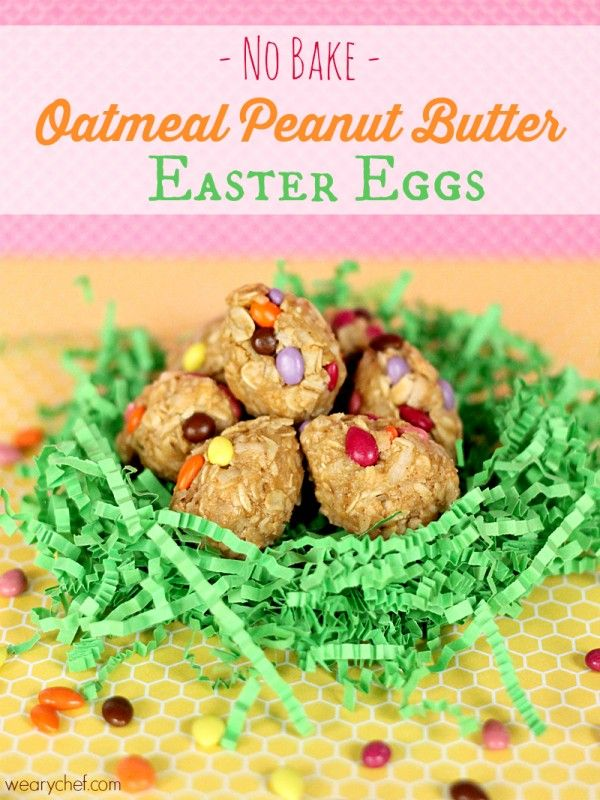 Peanut Butter Easter Eggs: A healthy, easy no-bake recipe! #easter ...