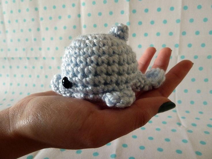 Crochet Amigurumi Dolphin Pattern : dolphin-amigurumi free pattern Crochet Pinterest