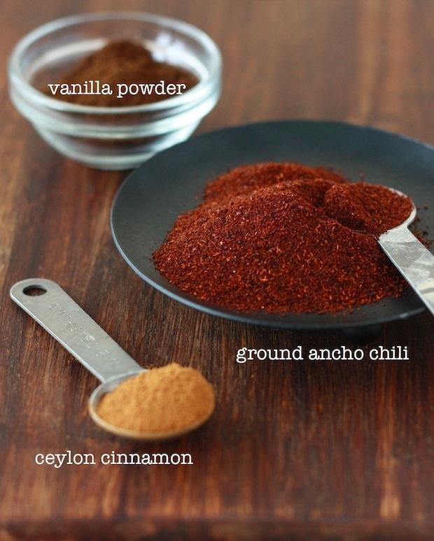 to your chocolate treats, like ancho chili pepper, Ceylon cinnamon ...