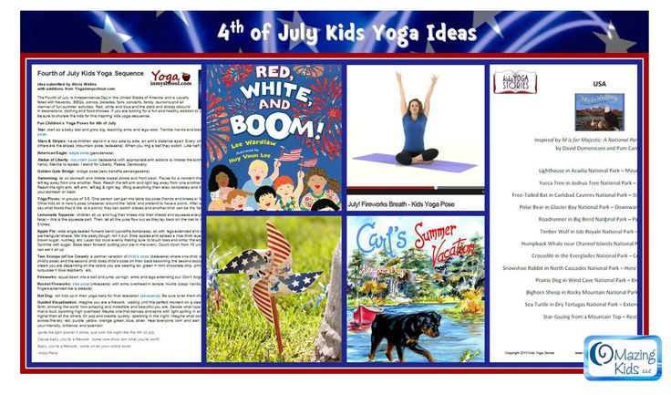 4th of july yoga