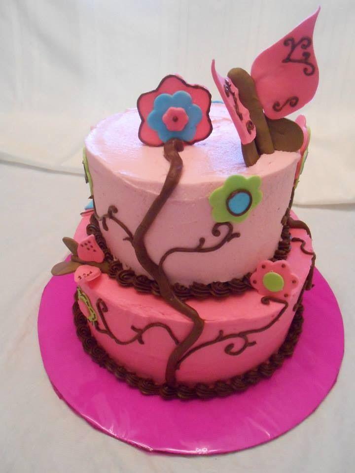 butterfly baby shower cake cakes pinterest