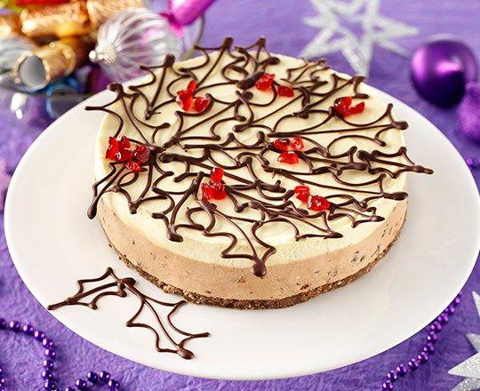 Chocolate Pudding Cheesecake | PHILADELPHIA #recipes # ...