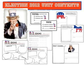 presidential election unit elementary   just b.CAUSE