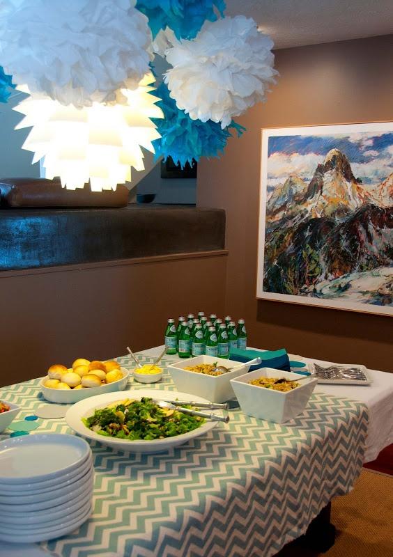 chevron print ideas for celebration decor pinterest