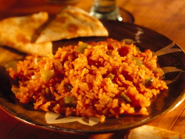 Basic Spanish Rice made this, it is good...