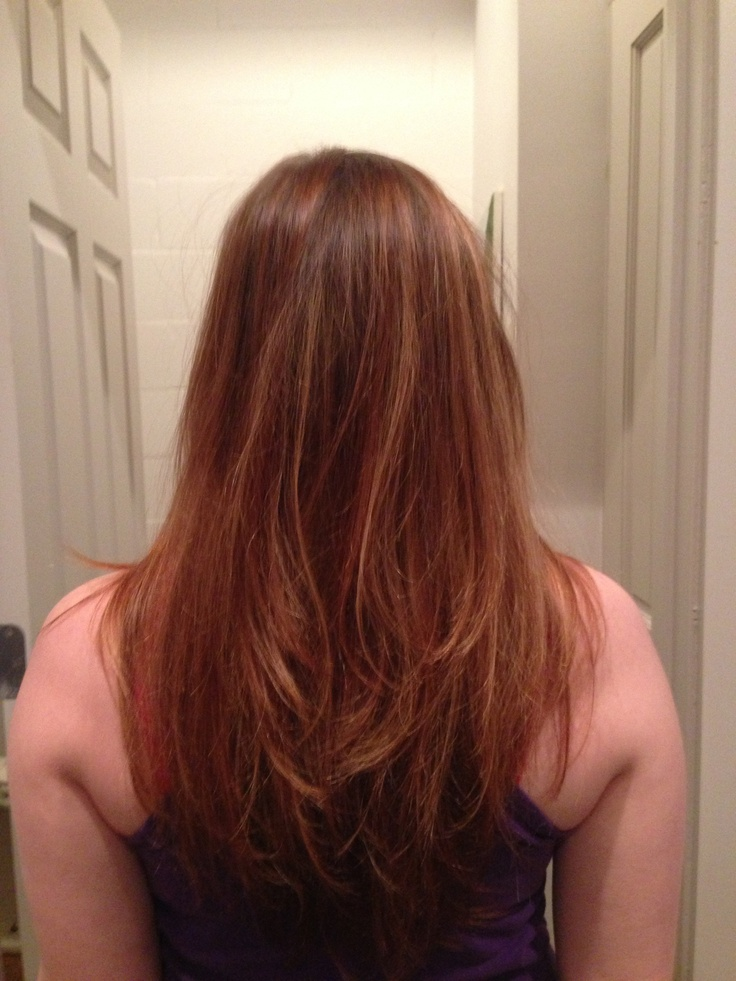 Bayalage technique highlights in blonde caramel beautiful tri color