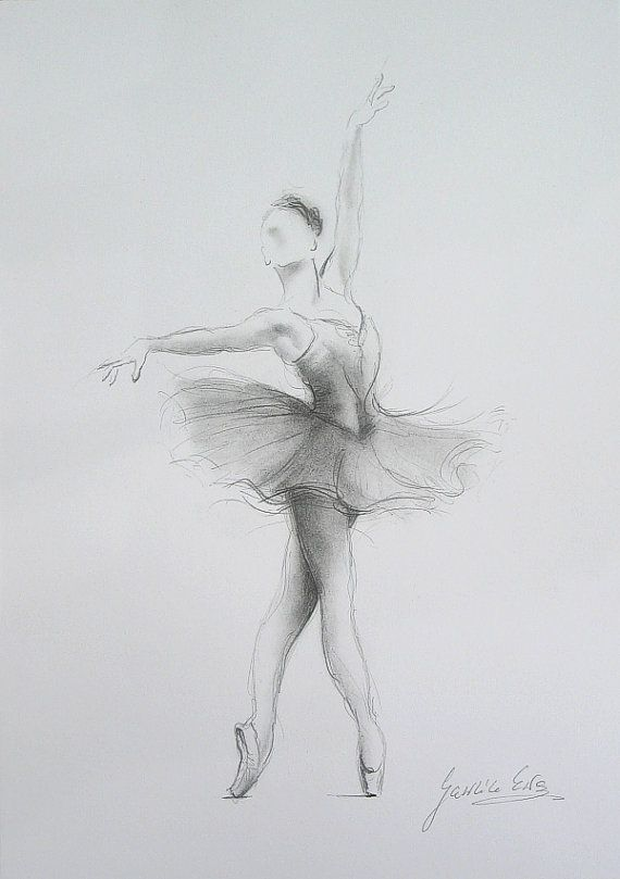 ballerina pencil drawing - photo #6