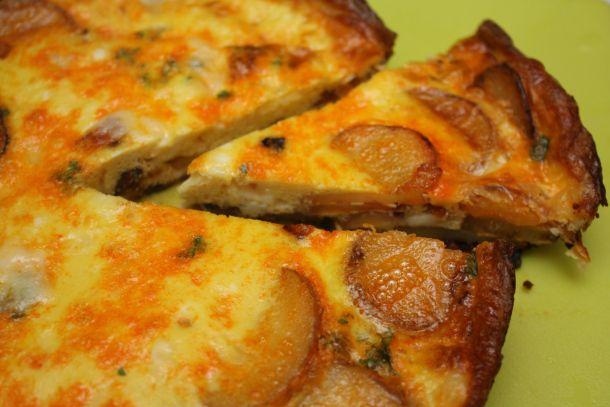 chorizo potato frittata | Yum yums | Pinterest