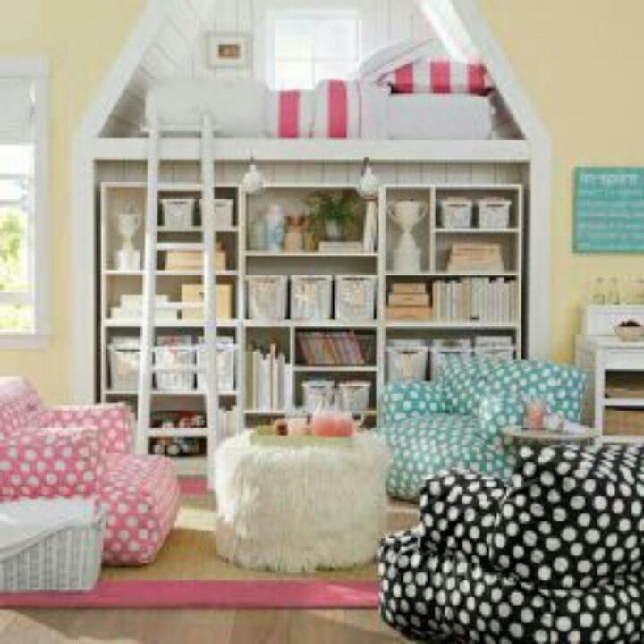coolest bedroom ever little girl spaces pinterest