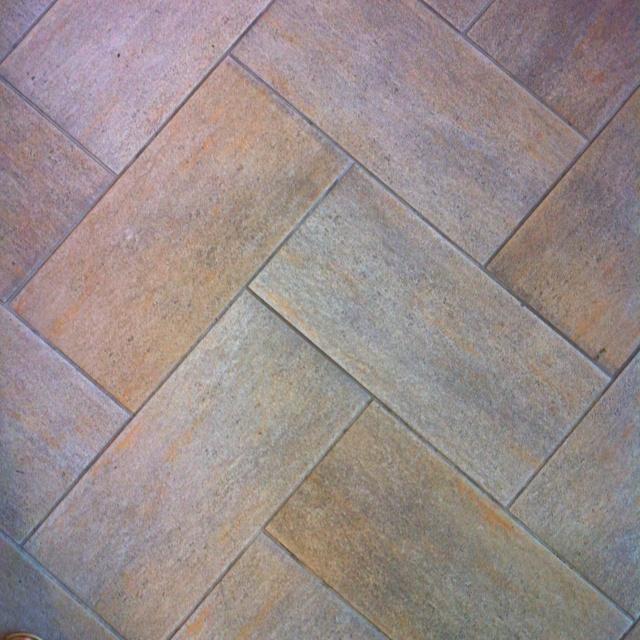 Chevron Floor Tile Pattern Kitchen Pinterest