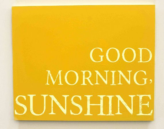 Good Morning Sunshine Letter : Good morning sunshine nursery canvas kids quotes