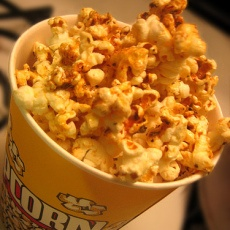 Spicy Cajun Popcorn! I made this in my foods class and it was amazing ...