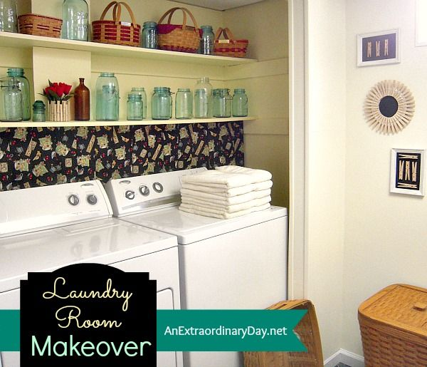 Laundry Room Makeover :: The Reveal :: AnExtraordinaryDay.net
