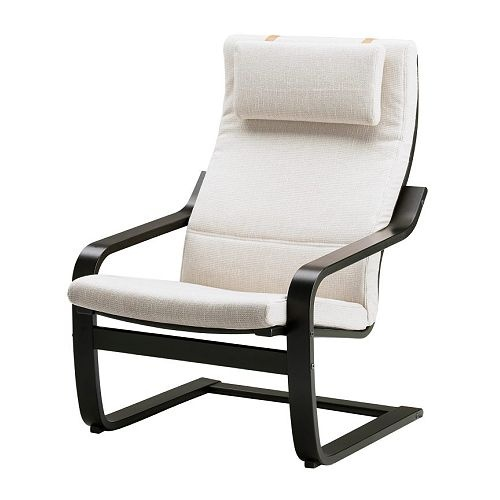 Ikea Poang Chair Craigslist ~ POÄNG Chair, black brown, Dala natural  Bowen's Room  Pinterest