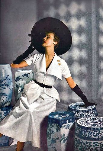 Mary Jane Russell - photo by Louise Dahl-Wolfe for Harper's Bazaar [1949]