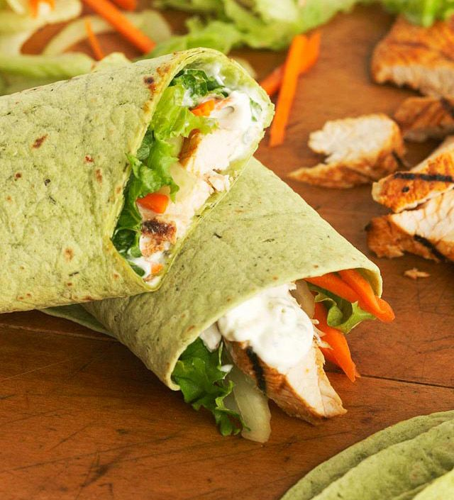 Buffalo-Style Turkey Wraps from the Better Homes and Gardens Must-Have ...