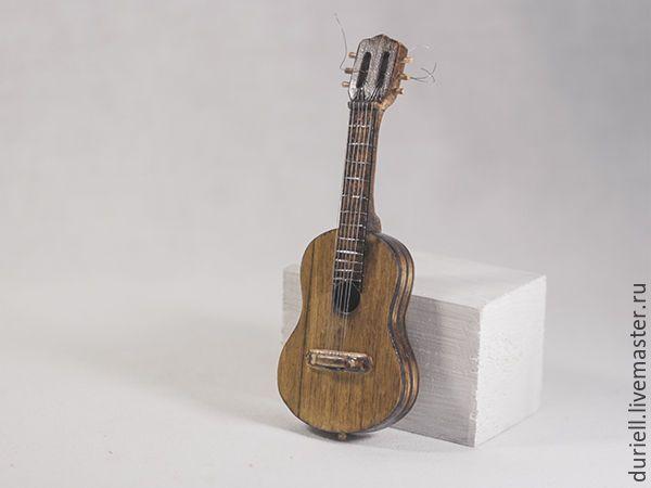 Гитара для кукол своими руками 266