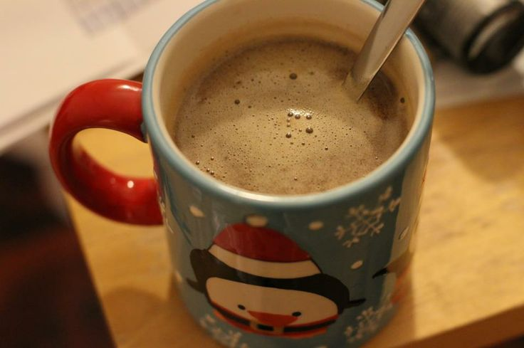 made this tonight: Hot buttered rum. For the kids I left out the rum ...