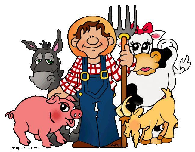 clipart | Thema boerderij kleuters / Farm theme preschool / Ferme ...