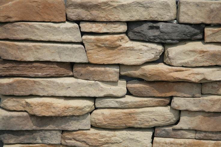 pietra ricostruita : Apple Ridge Buff Ledgestone Little King Lodge Pinterest