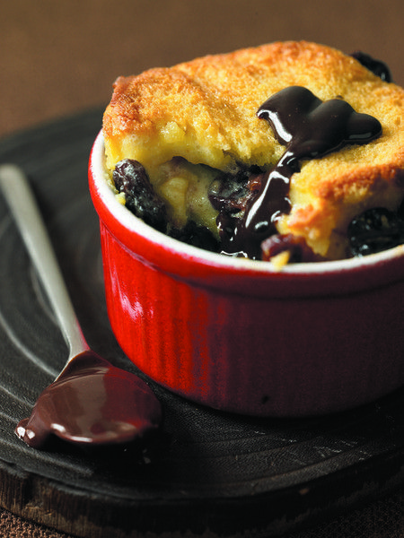 ... bread pudding chocolate bread pudding with two chocolate sauces
