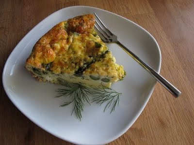 Asparagus, Dill, and Feta Quiche | Favorite Recipes | Pinterest