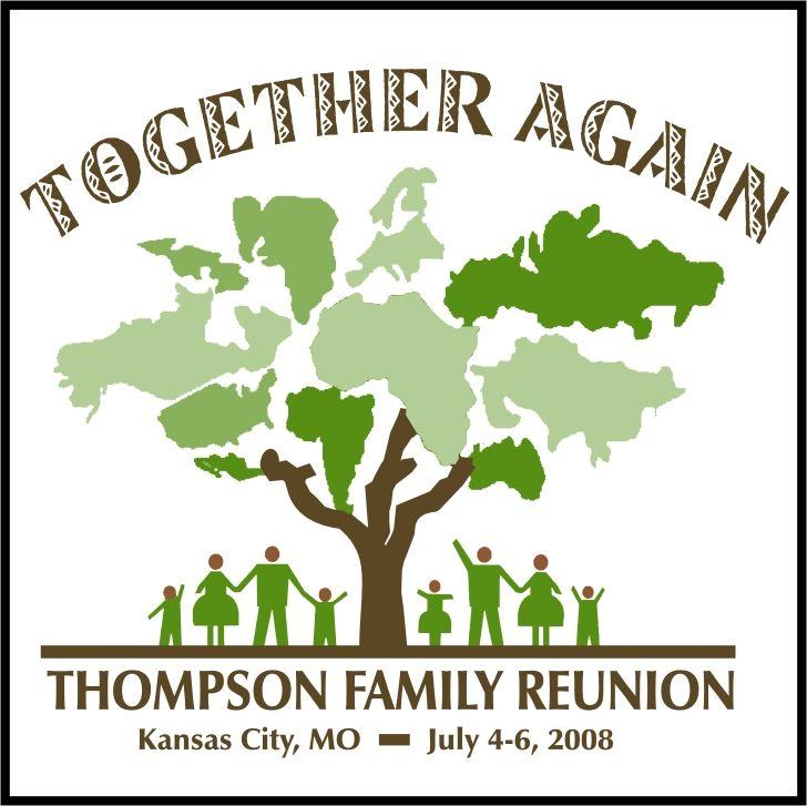 Family reunion logos designs