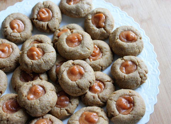 cornmeal & guava thumbrint cookies | sweet treats | Pinterest