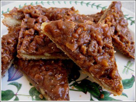 Pecan Caramel Bar Cookies | The Family Table | Pinterest