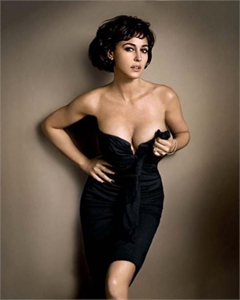 Monica Bellucci GQ 2012 Like this hair! | MONICA BELLUCCI | Pinterest