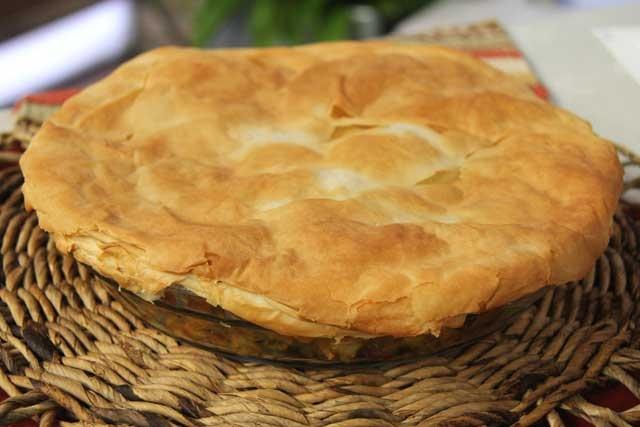 Moroccan Chicken Phyllo Pie   Food & Drink   Pinterest