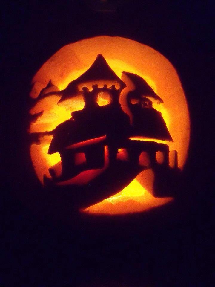 halloween pumpkin house by - photo #40
