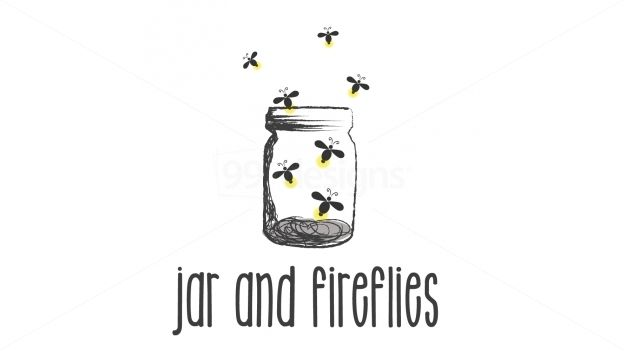 Firefly in a jar drawing